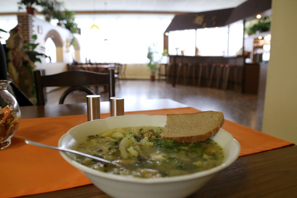In der Nieder Seifersdorfer Gaststätte Zum Landwirt wird bis auf Weiteres kein Essen mehr an den Tisch gebracht. Gekocht wird vorerst nur auf Bestellung und fürs Catering.