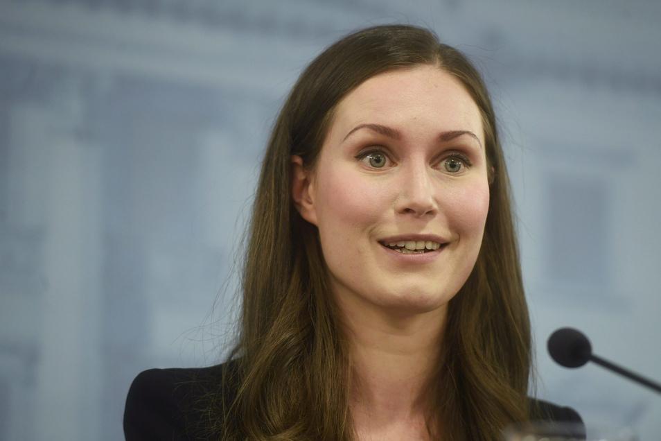 Sanna Marin, die neu gewählte Ministerpräsidentin von Finnland,