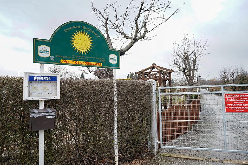 In der Kleingartenanlage Morgensonne gibt es Leerstand. Ein potenzieller Wohn-Standort?