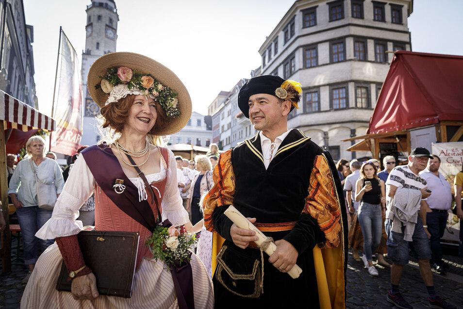 2019 konnte Octavian Ursu das Altstadtfest erstmalig als OB eröffnen. Dieses Jahr fällt es aus.