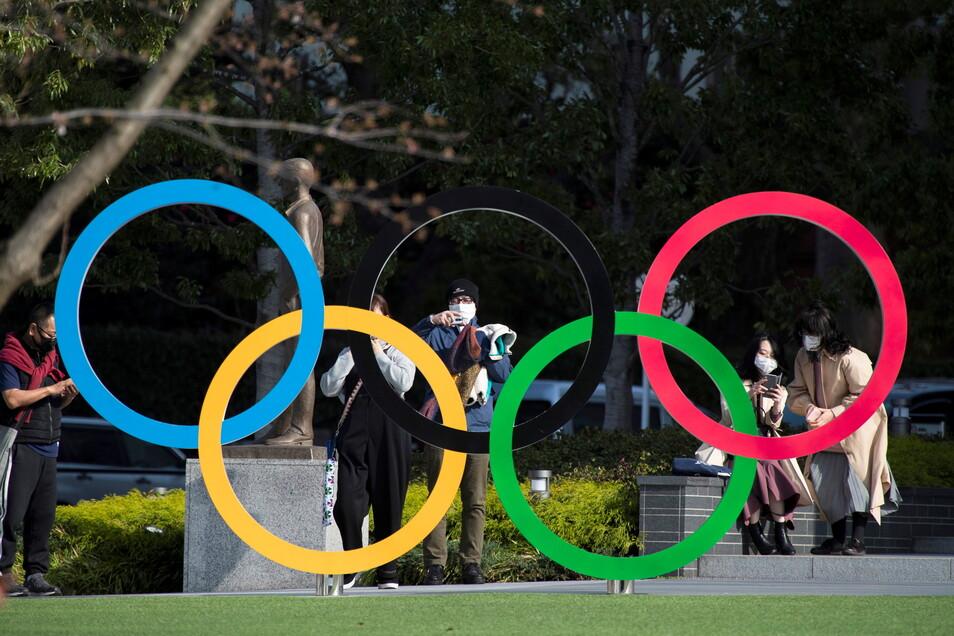 Die von 2020 auf 2021 verschobenen Olympischen Spiele in Tokio sollen ohne internationales Publikum stattfinden.