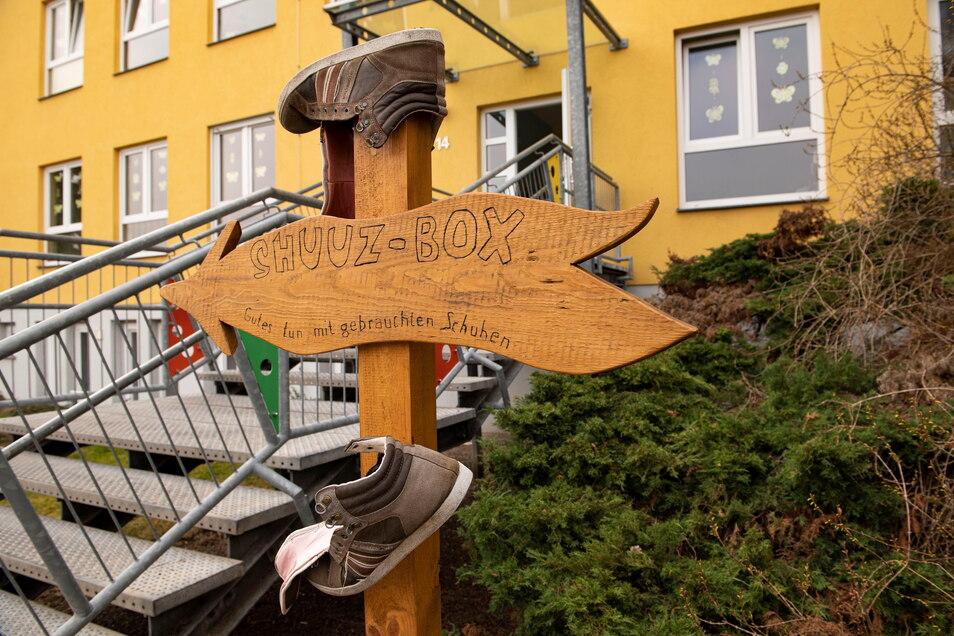 Das Kinderhaus Am Bobersberg des Hortvereins Regenbogen e.V. Großenhain gewann 400 Euro.