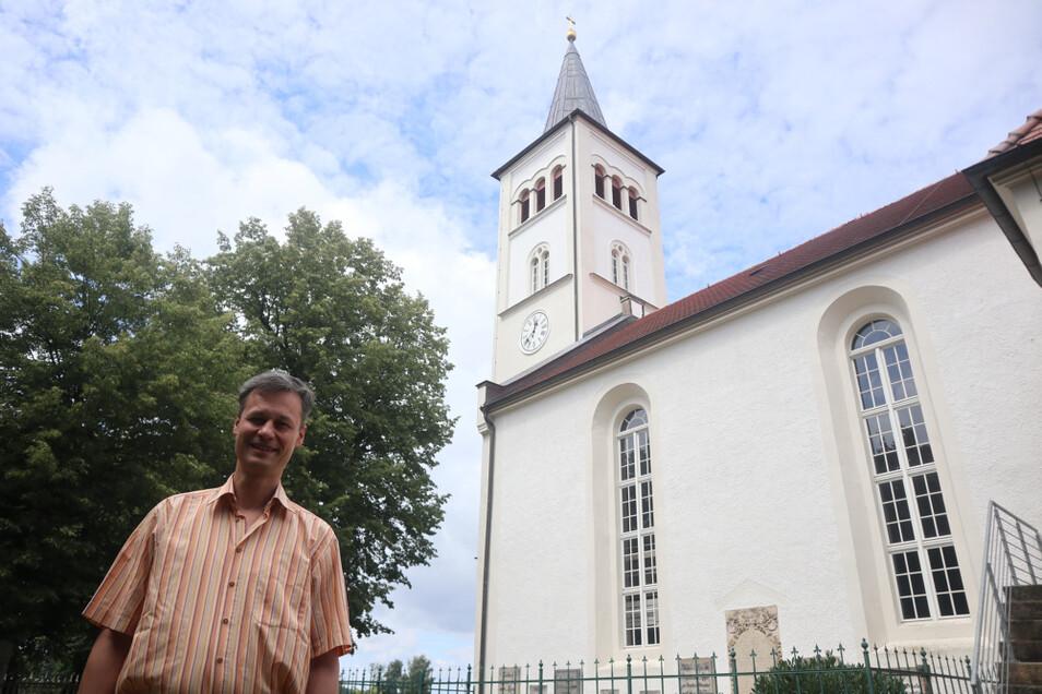Reichlich zwölf Jahre war Christian Huth Pfarrer in der Evangelischen Trinitatisgemeinde am See bei Niesky.