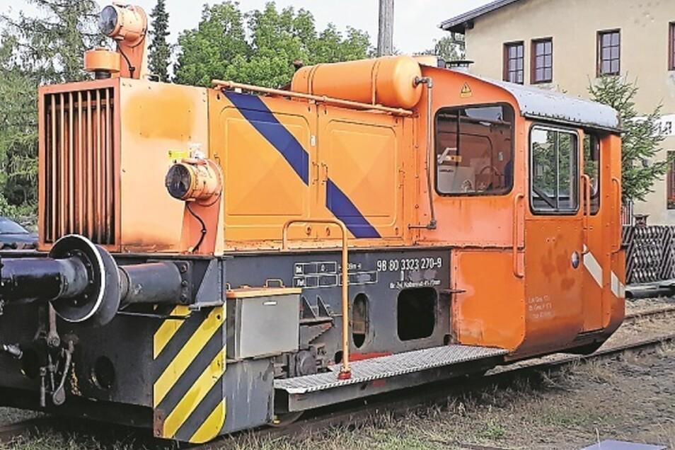 Übrigens gehört auch ein Exemplar der Nachfolge-Baureihe jetzt zum Verein: Die KÖF II.