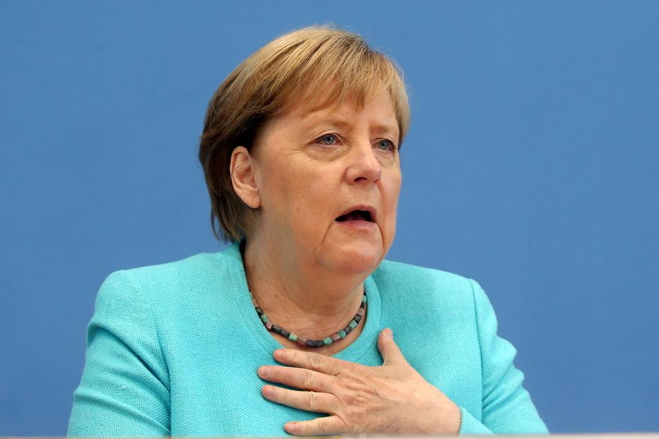 Bundeskanzlerin Angela Merkel (CDU) hat sich in Berlin den Fragen der Hauptstadtpresse gestellt.