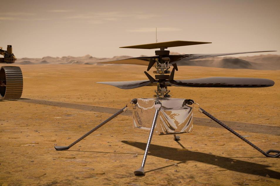 Die Nasa verkündet im Zusammenhang mit der aktuellen Mars-Mission einen nächsten Erfolg und veröffentlicht Ton-Aufnahmen.