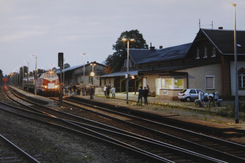 Ob in Herrnhut einmal wieder Züge rollen, ist unklar.