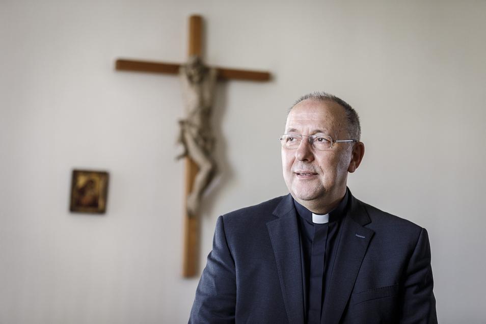 Bischof Wolfgang Ipolt ist vom Coronavirus betroffen.