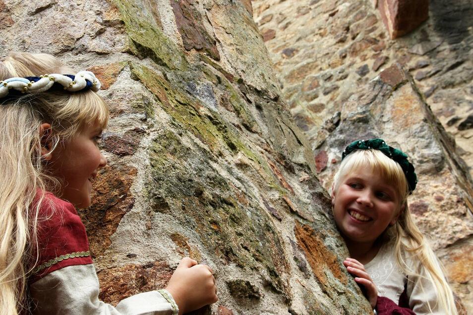 Auf der Burg Gnandstein werden Führungen für Kinder angeboten. Und es gibt noch mehr zu entdecken.