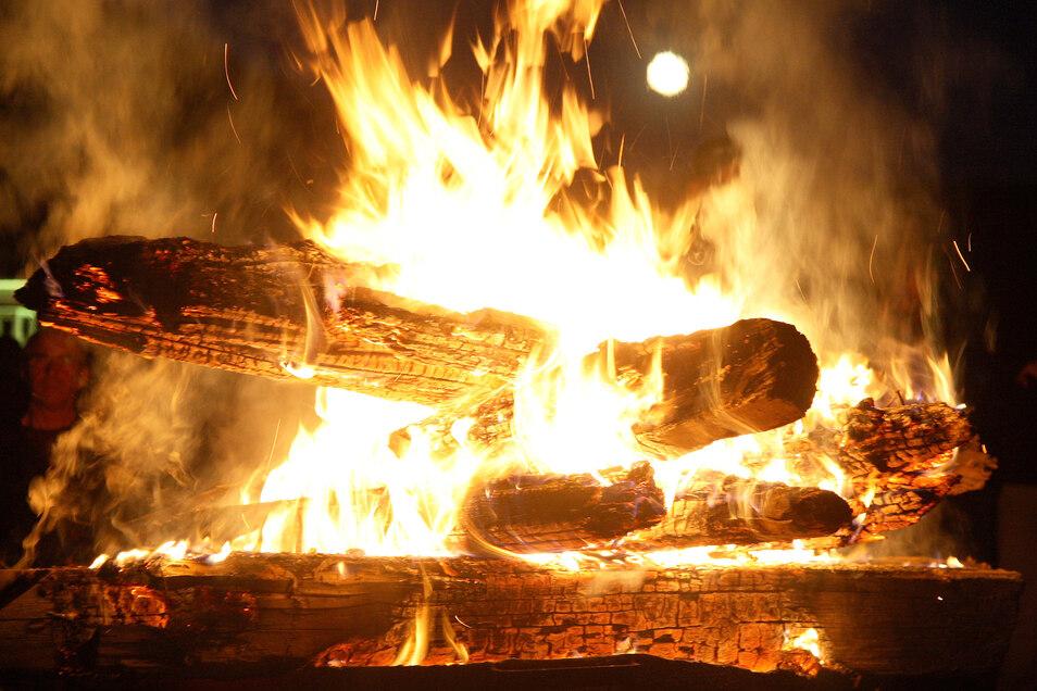 Private Osterfeuer soll es in Tharandt dieses Jahr nicht geben.