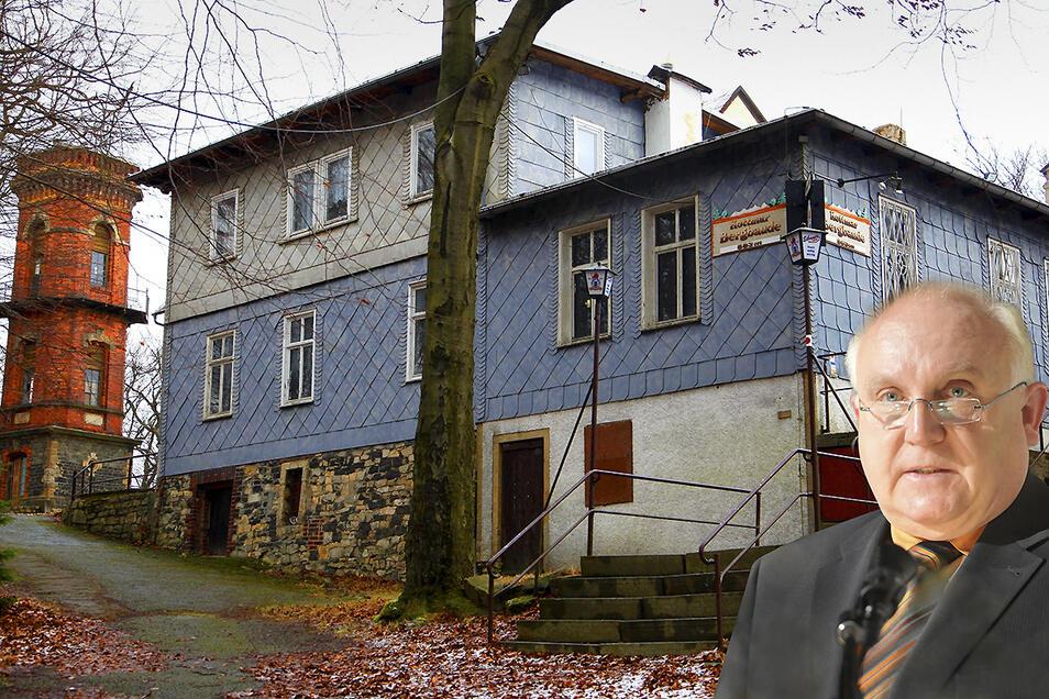Die Kottmarbaude fällt an die Stadt Löbau zurück. Konkrete Pläne will OB Buchholz aber noch nicht verraten.