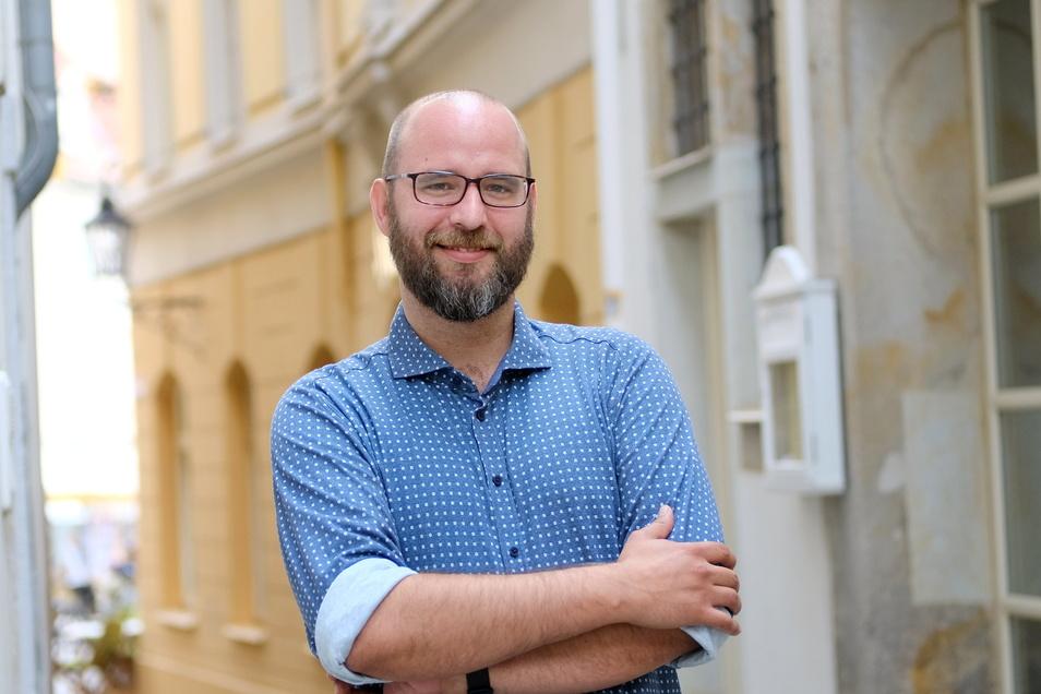 Wirtschaftsförderer Martin Schuster richtet im Namen aller Meißner Einzelhändler einen Brief an Martin Dulig (SPD).
