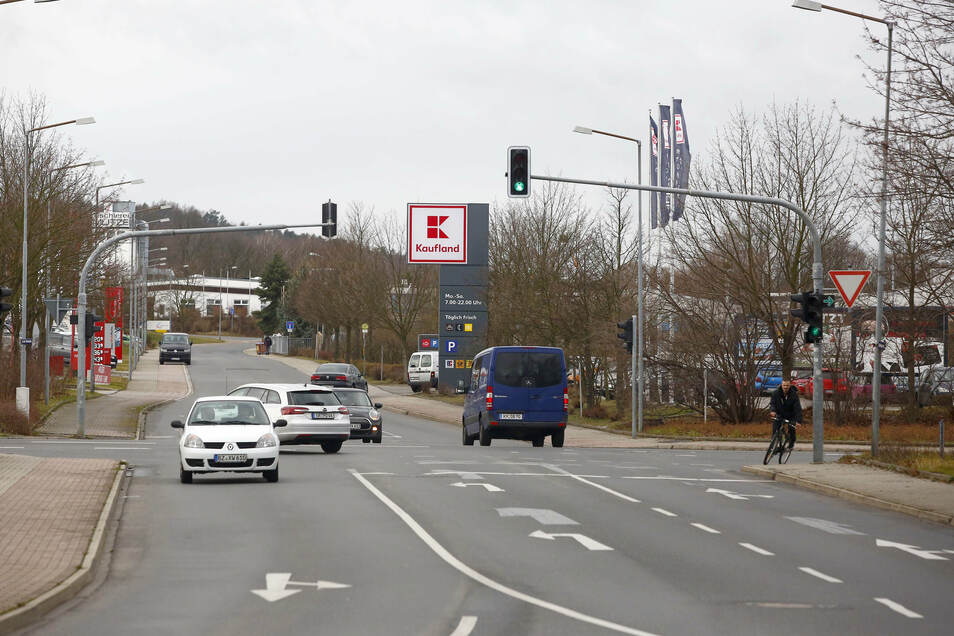Die Kreuzung Nordstraße/Siedlungsweg in Kamenz soll umgebaut werden.