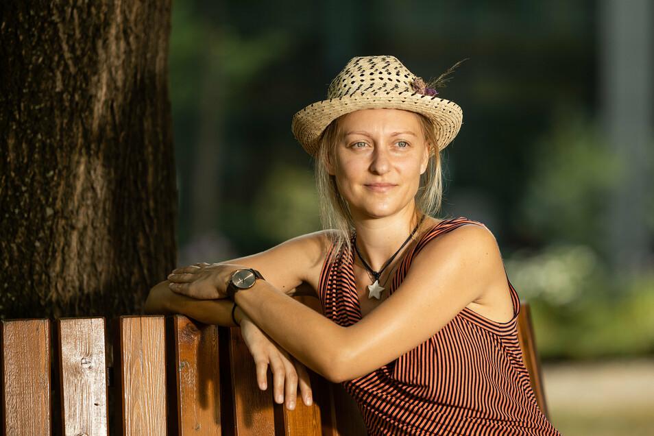 Optimistisch und fast immer positiv – so geht Madeleine Burisch aus Leipzig mit ihrer Brustkrebserkrankung um. Doch es gibt auch schwache Momente.