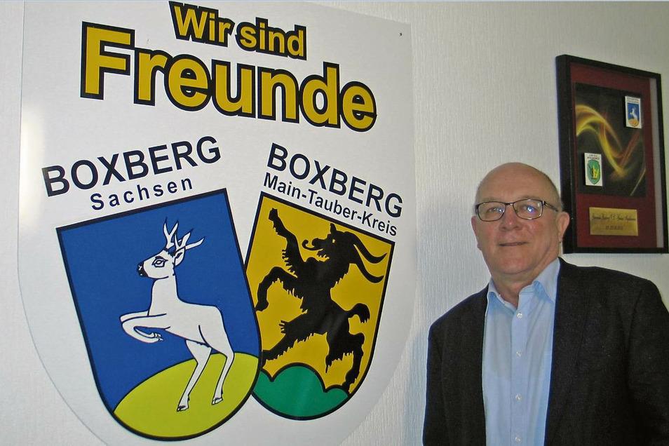 Seit 30 Jahren sind Boxberg in der Oberlausitz und Boxberg in Baden partnerschaftlich verbunden. Die Zusammenarbeit findet hauptsächlich zwischen den Freiwilligen Feuerwehren, den Verwaltungen, aber auch im privaten Bereich statt und schließt viele gegens