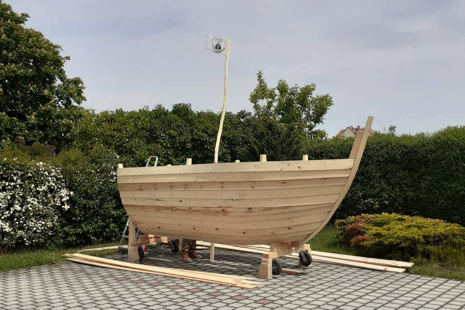 Das Wiesenschiff wird nun bei den monatlichen Bürgerwiesen dabei sein und seinen Anker in den Wohngebieten setzen.