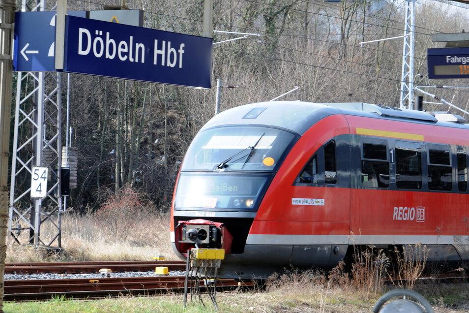 Im Dezember 2015 wurde die Bahnstrecke zwischen Döbeln und Meißen eingestellt.