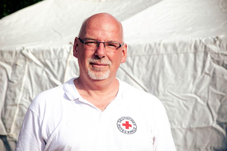 Ralf Fillies hat schon 2013 bei der Flut in Sachsen geholfen.