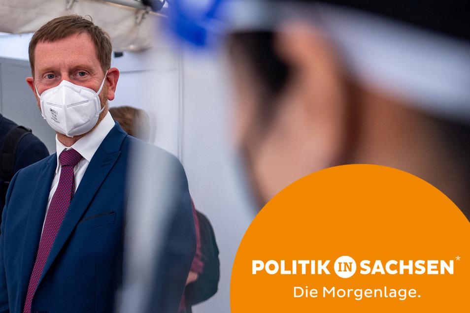 Sachsens Ministerpräsident Michael Kretschmer befürwortet Vorteile für Geimpfte.