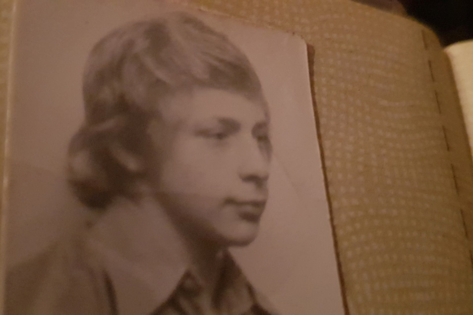 So sah Jens Gläser in den 1970er Jahren aus. Das war die Zeit, als er Carola Rolling kennenlernte.