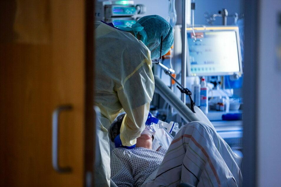 Die Lage in den Kliniken ist auch zu Beginn des Jahres ernst.