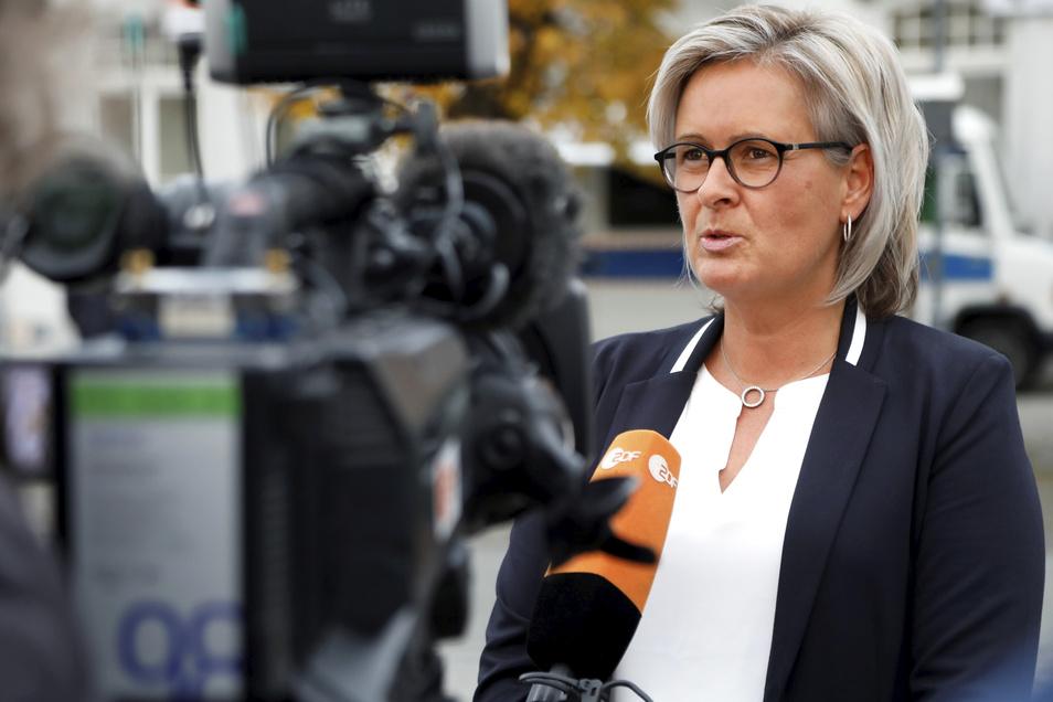 Ostritz' Bürgermeisterin Marion Prange ist durch die Reaktion ihrer Stadt auf Nazi-Veranstaltungen bundesweit bekannt geworden.