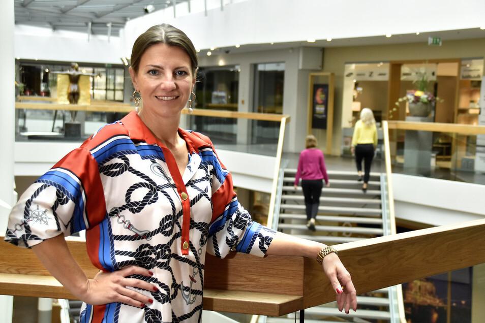 Andrea Knabe sucht nach weiteren Mietern für die QF-Passage. Seit Juni ist sie die Centermanagerin.