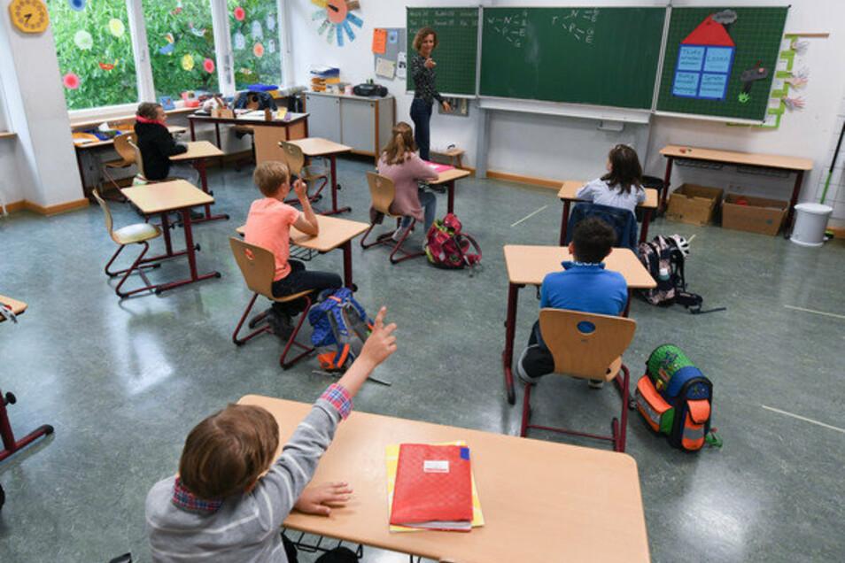 In Sachsen können Kinder in Gemeinschaftsschulen länger als Klasse 4 gemeinsam lernen.
