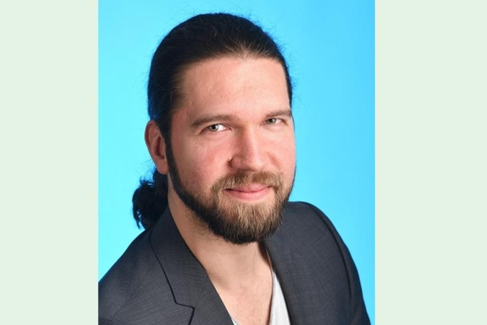 Marcel Linack tritt für die Freien Wähler an. Er will mehr Einflussnahme der Bürger vor Ort.