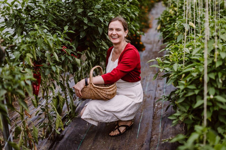 Anja Nixdorf-Munkwitz will Online-Handel und Wochenmarkt miteinander verbinden.