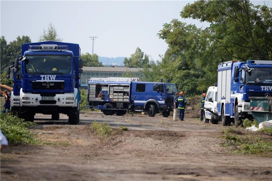 Ähnlich wie in Chemnitz sollen die Flüchtlinge in der Zeltstadt nur vorübergehend untergebracht werden.