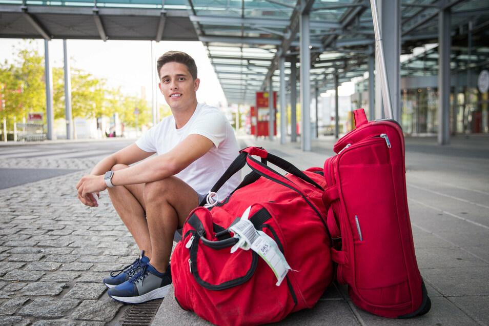 Alejandro Gaviria hat in Mallorca seine Familie besucht. Nun ist er wieder zurück in Deutschland.