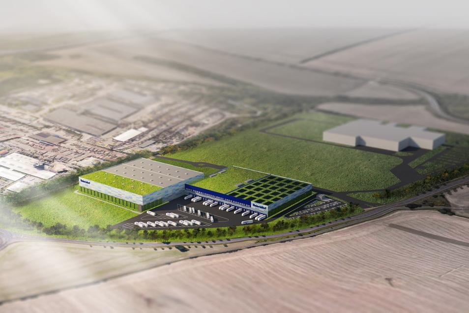 Da ist noch Platz: Nach seinem Florena-Umzug von Waldheim nach Leipzig will der Beiersdorf-Konzern auch ein Logistikzentrum bauen. Das bringt mehr Jobs als die Fabrik.