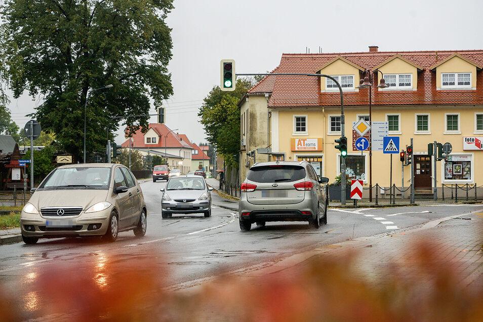 Wilthen, Zittauer Straße: Auch die Zittauer Straße in Wilthen gilt als Unfallschwerpunkt. Zwischen den Seitenstraßen Badweg und dem Grenzweg krachte es im vergangenen Jahr dreimal.