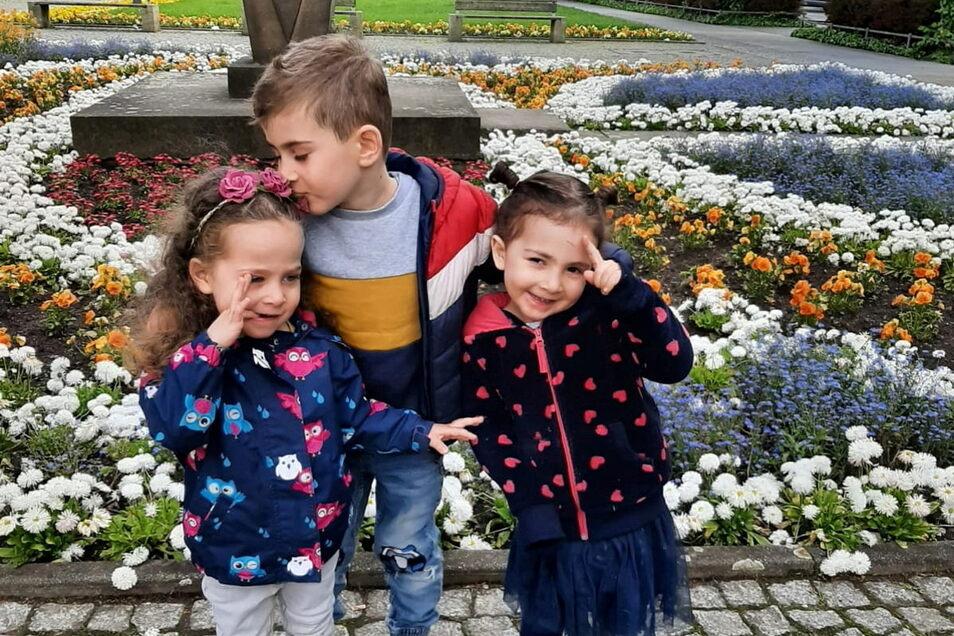 Fünf der sieben Kinder kannten ihr bisheriges Leben nur Pirna als ihre Heimat. Georgisches verstehen und sprechen sie nicht mal.