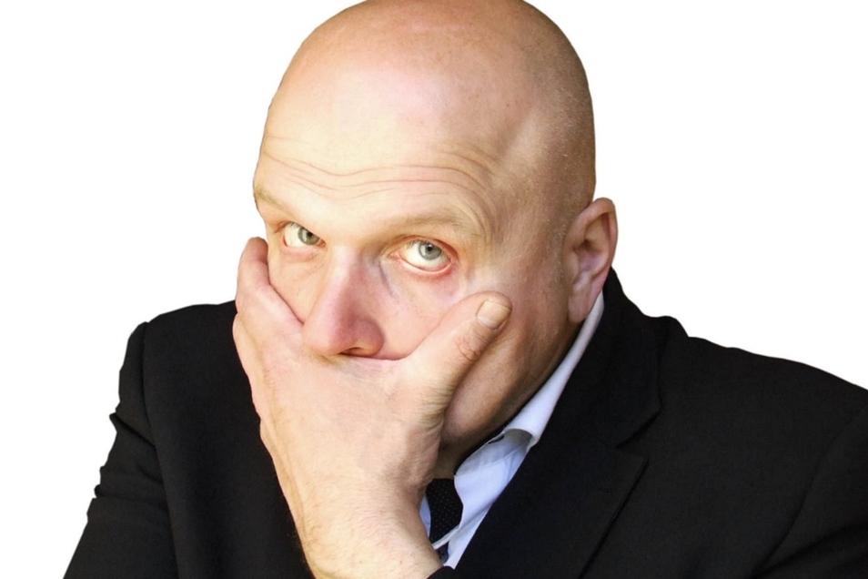 Peter Flache will sich kein maskiertes Publikum vorstellen.