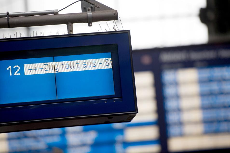 Ab heute gibt es erneut zahlreiche Zugausfälle.