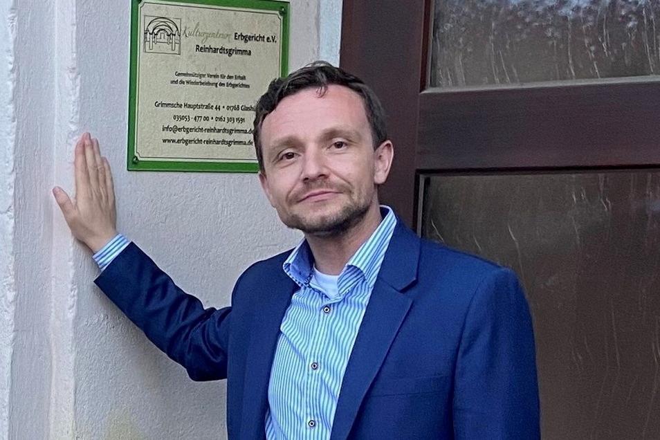 Benjamin Rosenkranz leitet auch in den nächsten Jahren den Stadtverband der CDU in Glashütte.