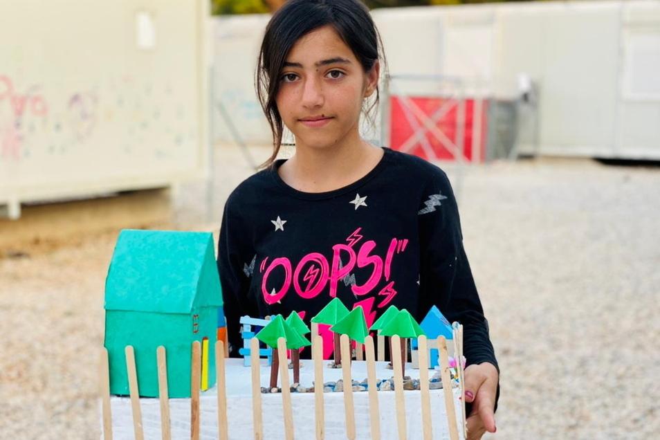 Rund 25 Mädchen und Jungen im Alter von sechs bis 14 Jahren haben an dem Projekt rund um den Riesen Sprejnik teilgenommen.