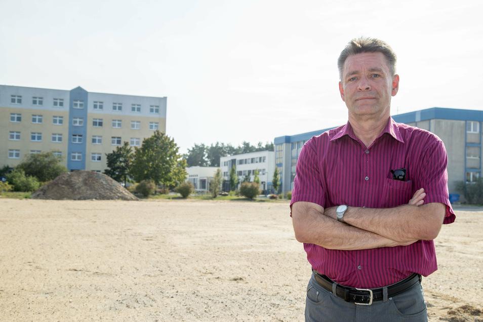 Neun Jahre war Frank-Dieter Schiller Angestellter der Polizeihochschule in Rothenburg, 28 Jahre insgesamt im öffentlichen Dienst.