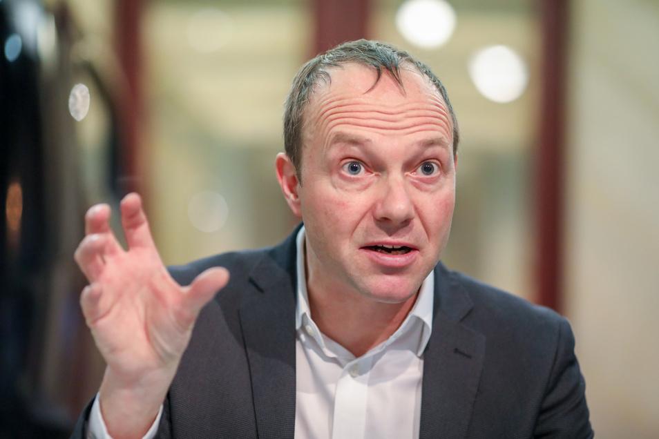 Wolfram Günther (Grüne), Landwirtschaftsminister von Sachsen
