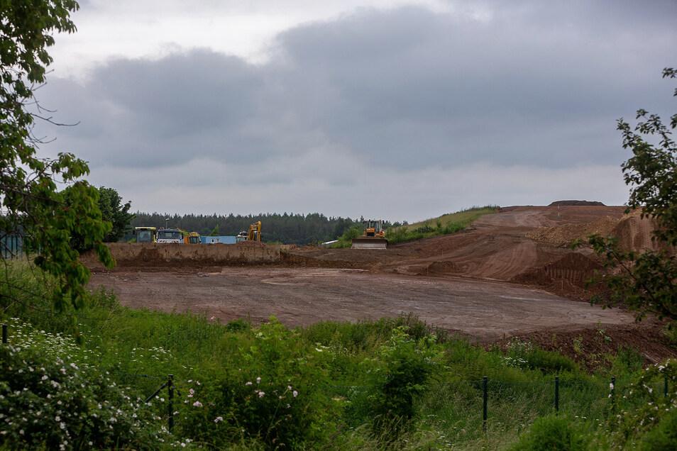 Auf dem Gelände der Deponie in Cunnersdorf bei Glashütte ist genug Platz für einen Wertstoffhof.