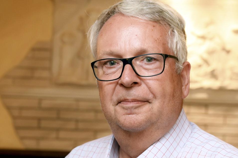 Geert Mackenroth war bis zur Landtagswahl 2019 Wahlkreisabgeordneter für Riesa. Dann verlor der CDU-Mann den Wahlkreis an Carsten Hütter (AfD).