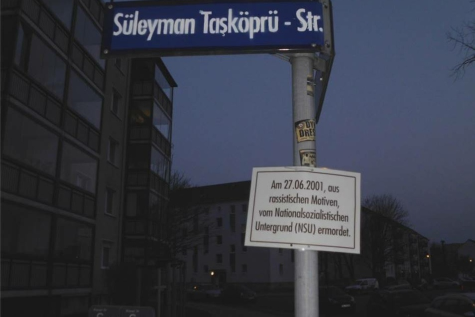 Aus der Nicolaistraße wurde die Süleyman Tasköprü -Str.