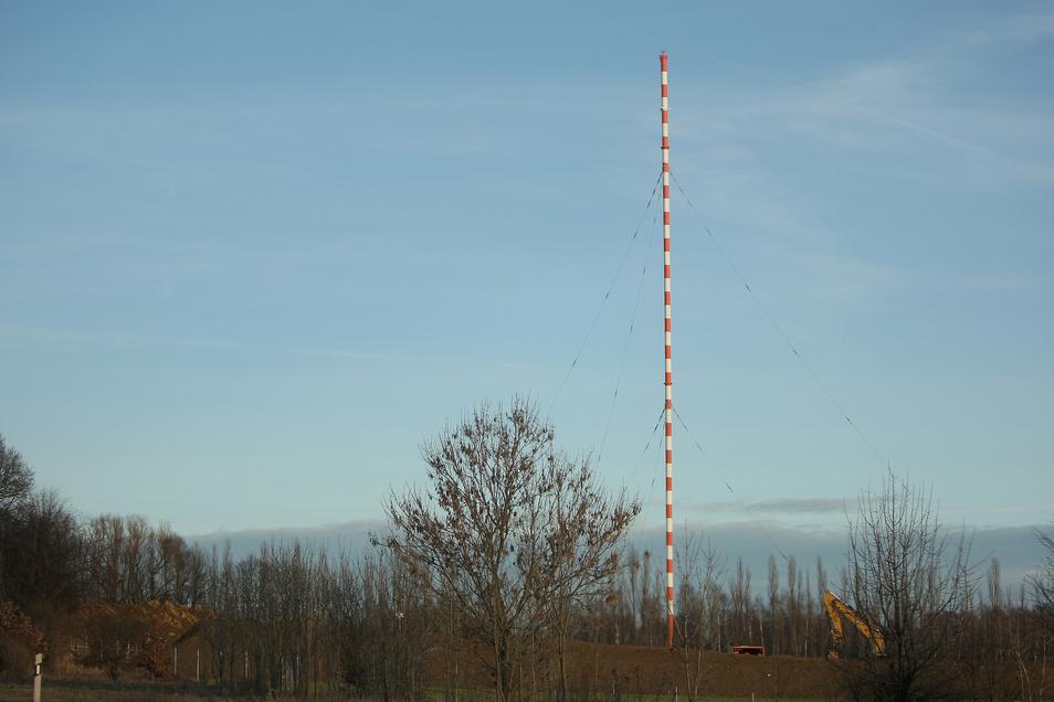 Der Wilsdruffer Mast soll wieder auf Sendung gehen.