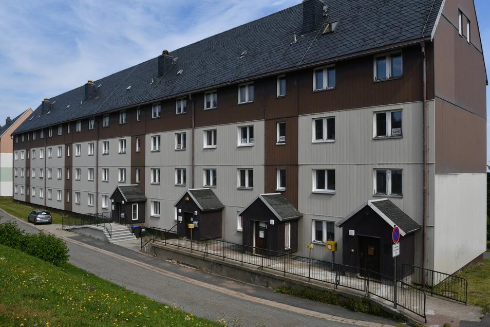 In den Ausbau des Wohnblocks Walter-Richter Straße 1 bis 7 sollen vier Millionen Euro investiert werden.