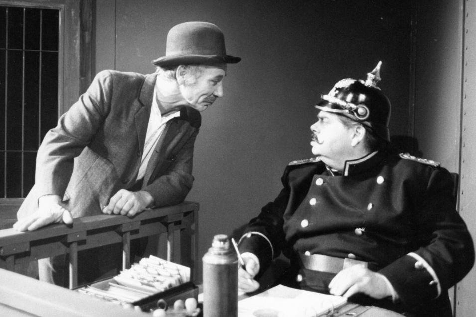 """Der gebürtige Berliner bezeichnete den """"Hauptmann von Köpenick"""" selbst als eine Traumrolle."""