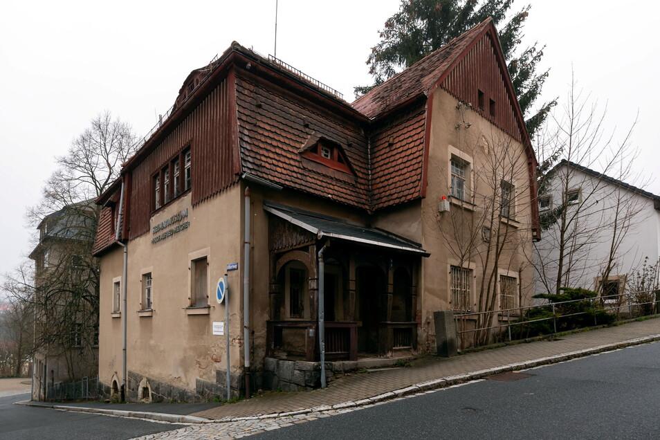 Ehemaliges Heimatmuseum Sebnitz an der Ecke Albertweg/Bergstraße: Die Villa soll erhalten werden.