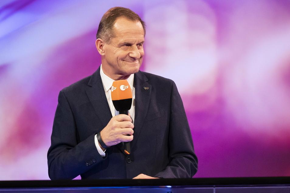 Alfons Hörmann, Präsident des Deutschen Olympischen Sportbundes, hat noch Hoffnung, dass 2021 ein gutes Jahr für den Sport werden könnte - trotz des Lockdowns.