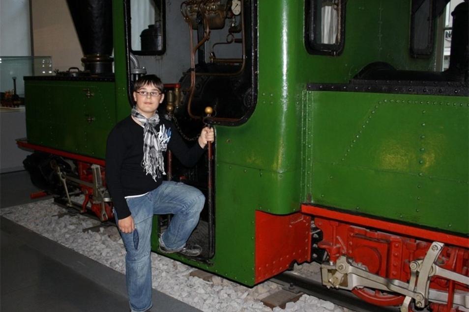 Andy Schuberts großes Hobby waren Eisenbahnen. So oft wie möglich besuchte er Museen zum Thema.